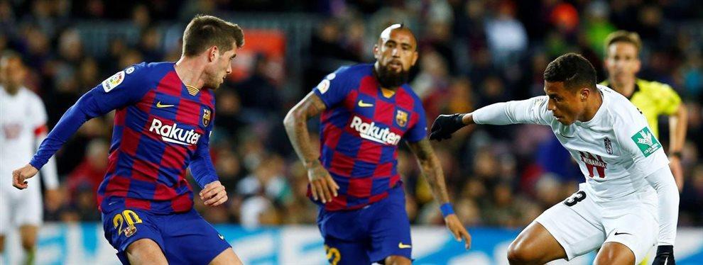 El Barça venció en el debut de Quique Setién en el banquillo del FC Barcelona con un solitario gol de Leo Messi.