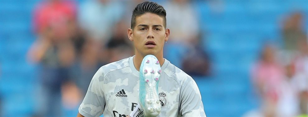 James Rodríguez tiene dos ofertas sobre la mesa, que el Real Madrid estudia detenidamente