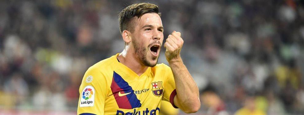 Abel Ruiz dejará el Barça, pues tampoco cuenta para Quique Setién, y se irá al Sporting de Portugal