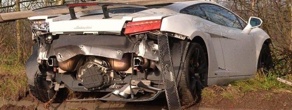 Sergio Romero sufrió un accidente con su auto en Mánchester, pero no sufrió heridas.