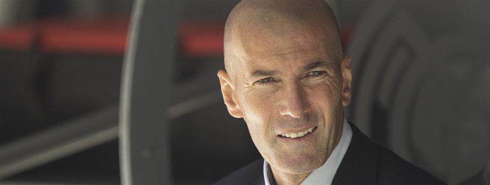 Zinedine Zidane lo activa y pone patas arriba el Real Madrid ¡El fichaje de invierno es una bomba y estará para jugar en la siguiente jornada de LaLiga!
