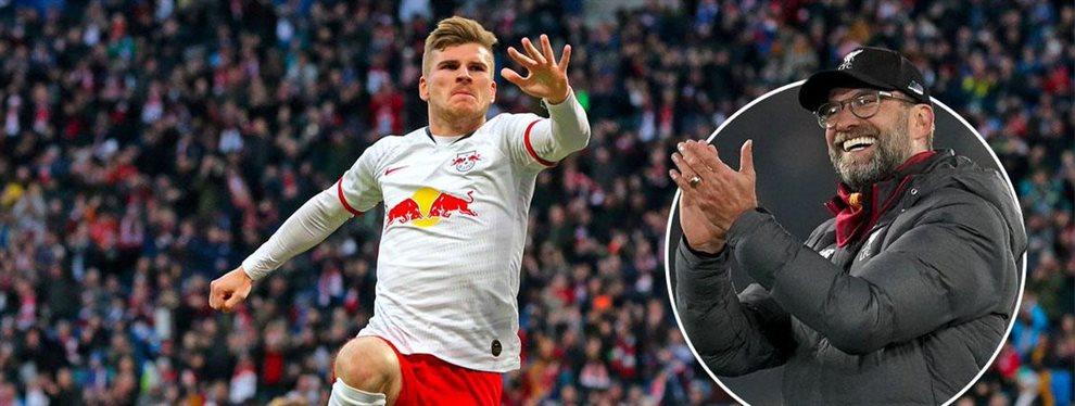 El Barça sueña con Timo Werner pero el jugador ya ha elegido equipo ¡Quiere irse junto a Jurgen Klopp al campeón de Europa! ¡Serán indestructibles!