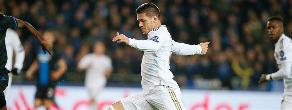 En el Real Madrid darán a Luka Jovic a cambio de Tammy Abraham al Chelsea de Frank Lampard.