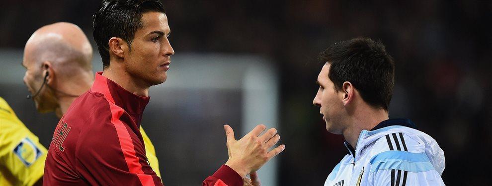 Leo Messi recibe 'la peor puñalada' del jugador más importante ¡Considera que Cristiano Ronaldo es un referente para él, por encima del 10 del Barça!