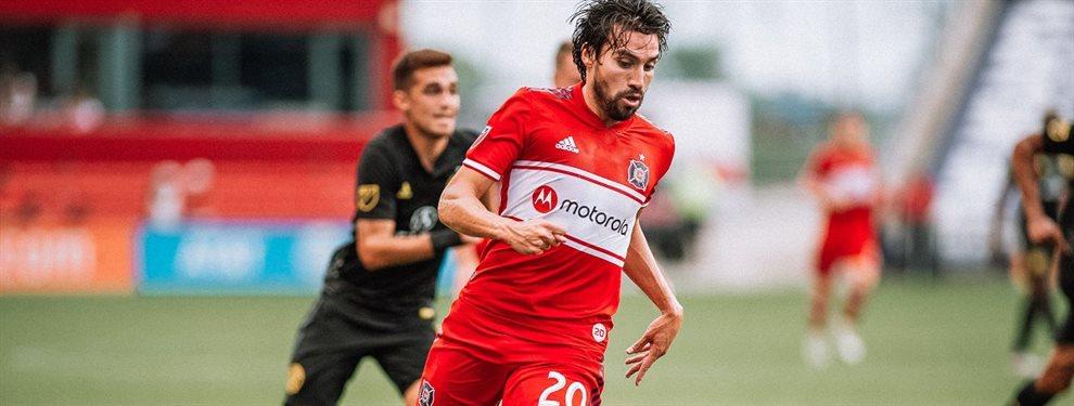 Nicolás Gaitán paso de casi ser refuerzo de Boca a entrenarse solo en un parque.