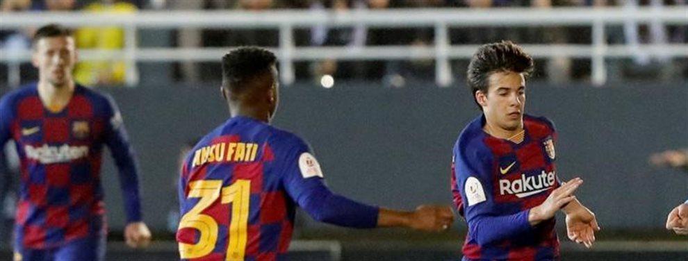 El Barcelona ganó ayer al Ibiza pero lo hizo con mucha suerte y dos goles de Griezmann que jugó de 9.Pero la realidad dibujo que hay jugadores que no valen
