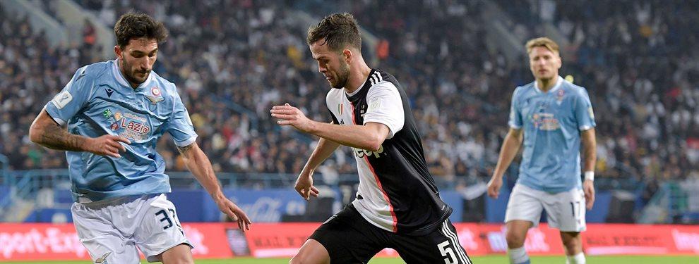 El Barça tiene un gran interés en Federico Bernardeschi, de la Juventus, y puede ofrecer a Ivan Rakitic