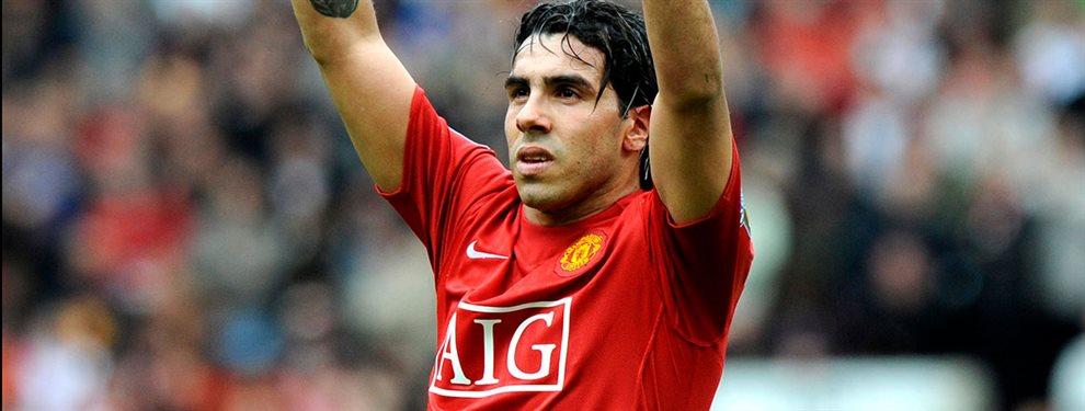 Carlos Tevez podría marcharse de Boca para regresar al Manchester United a préstamo.