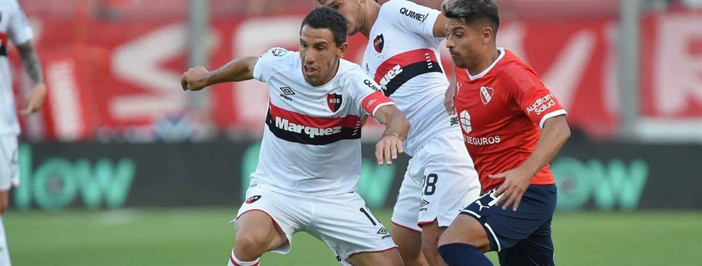 Sebastián Palacios se marcharía de Independiente y recalaría a préstamo en Newell's.