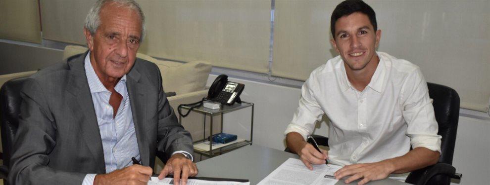 Es oficial: Ignacio Fernández renovó su contrato con River hasta el 30 de junio de 2021.