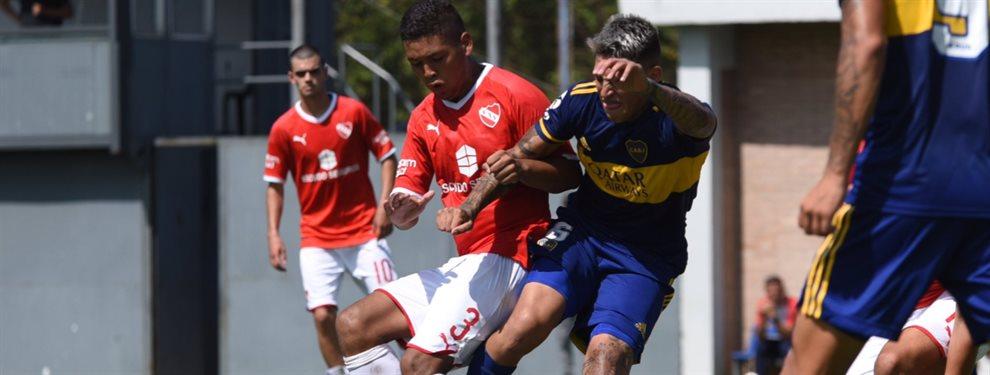 La era de Sebastián Battaglia al frente de la Reserva de Boca comenzó con un empate.