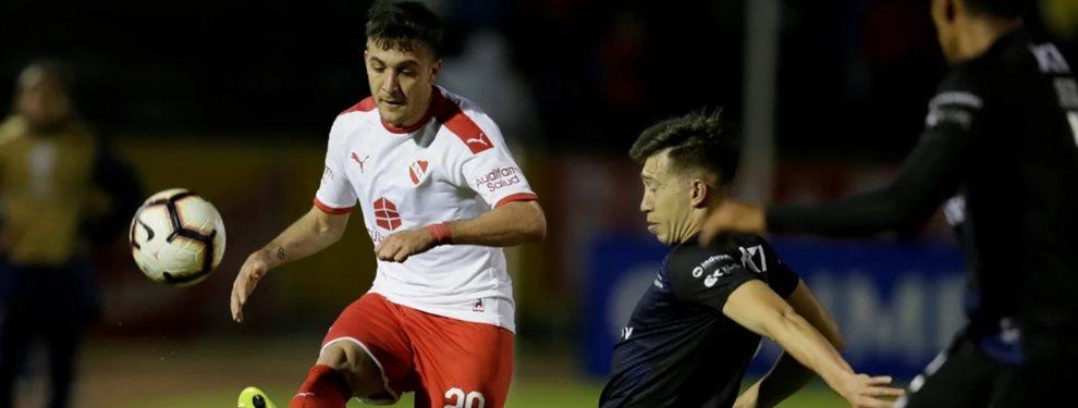 Defensa y Justicia acordó la incorporación del extremo de Independiente, Francisco Pizzini.