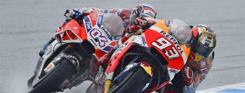 La escudería Ducati ha presentado su nuevo modelo para el Mundial de MotoGP con la que buscarán destronar a Marc Márquez tras sus 4 títulos consecutivos.