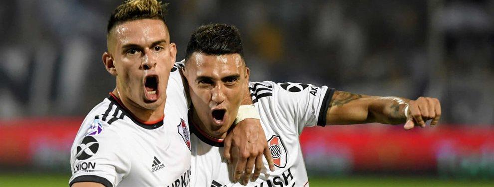 Godoy Cruz y River se enfrentaron en el estadio Malvinas Argentinas de Mendoza por la fecha 17 de la Superliga.
