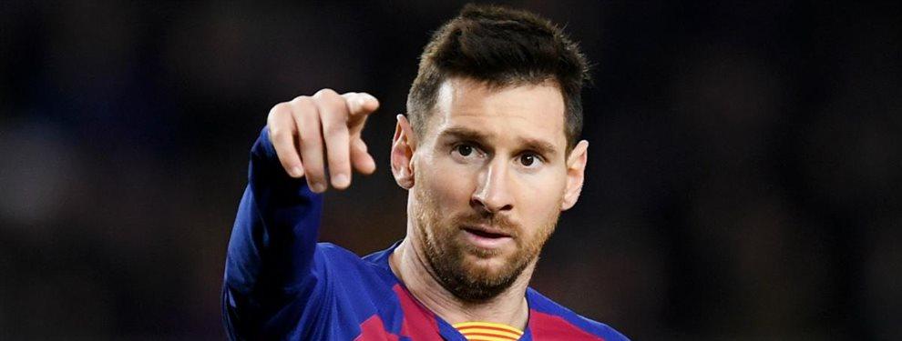 Lionel Messi quiere un delantero en el Barcelona sin demora. Sin Luis Suárez, el poder ofensivo del equipo decrece considerablemente.