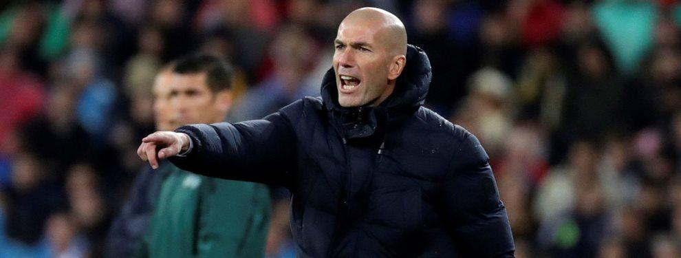 Históricamente los equipos de Zinedine Zidane se construyen teniendo como precepto el centro del campo.
