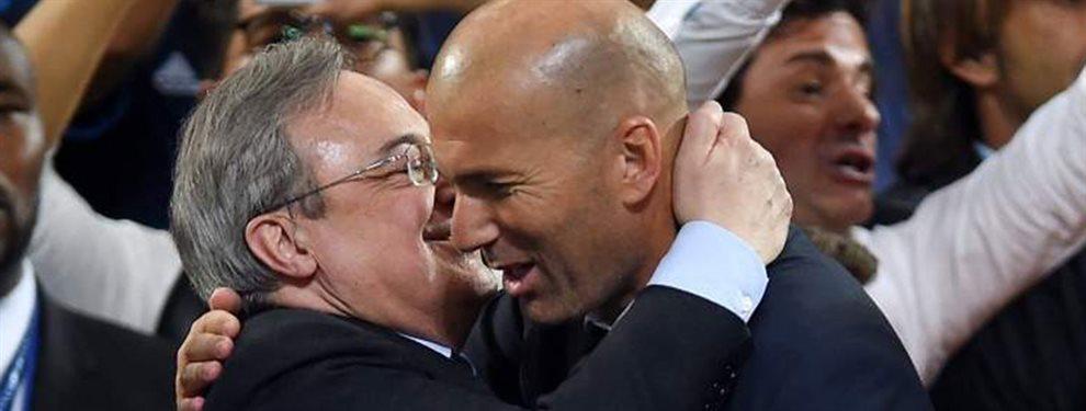 Florentino Pérez está enterado de que el deseo principal de Zinedine Zidane es el centrocampista francés.