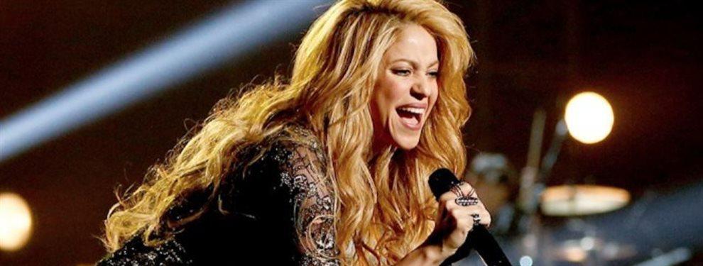 Shakira cuenta en un video sus rutinas de entrenamiento para su actuación en el descanso de la SuperBowl, y llama a Piqué marido, sin haberse casado.
