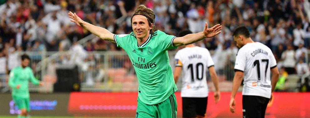 James Maddison es uno de los que más gusta en el Real Madrid para relevar a Luka Modric