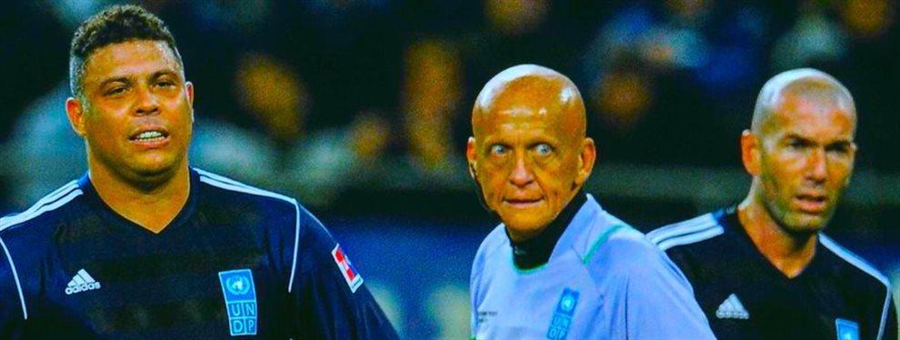 Florentino Pérez no está contento con Ronaldo Nazario. El propietario del Real Valladolid no ha dejado las cosas fáciles a los jugadores cedidos del club