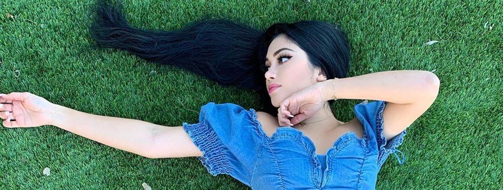 La modelo de tallas especiales Jayline Ojeda da las gracias a sus seguidores por haber pasado los 11 millones de fieles con un posado en jeans ceñidísimos