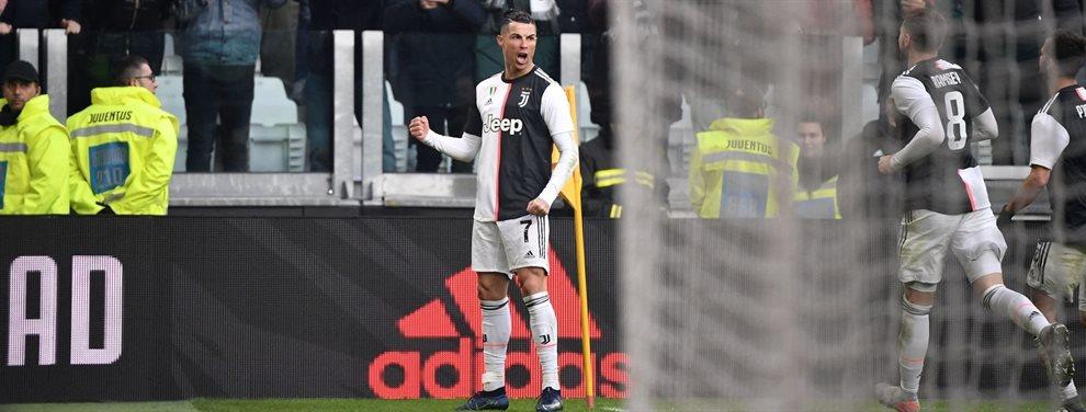 Atención al mensaje que Cristiano Ronaldo le mandó a sus compañeros en el vestuario tras caer en San Paolo ante el Nápoles ¡Furia del crack luso, brutal!
