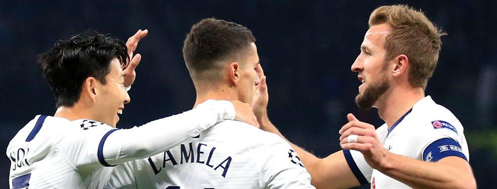 El Tottenham busca una salida para encontrar un 9 de garantías... pero no tienen dinero. No hay por donde coger el plan de Daniel Levy, Mourinho alucina