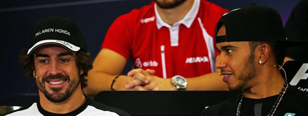 Dos bombazos en uno que van a reventar la Fórmula 1 ¡Vuelve Fernando Alonso y Lewis Hamilton está cada vez más cerca de pilotar el Cavallino Rampante!