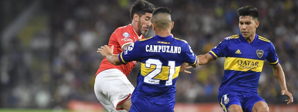 Pablo Pérez se marcharía de Independiente y Lucas Pusineri pretende a Diego Churín.