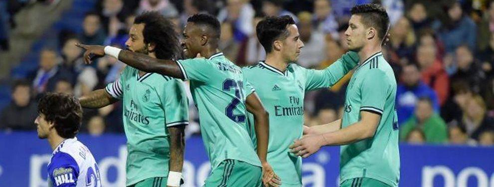 Zinedine Zidane salió muy disgustado con James Rodríguez y Luka Jovic tras el partido