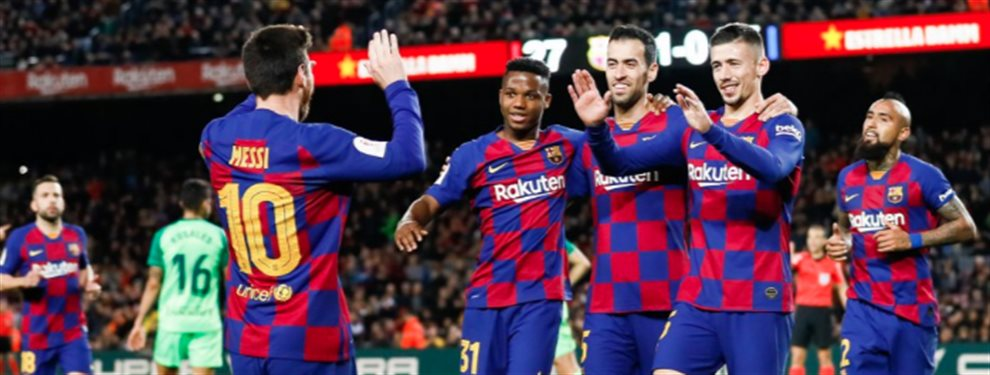 El Barça no traerá a ningún delantero, para esperar a Neymar Junior en verano, aunque sí llegará Francisco Trincao