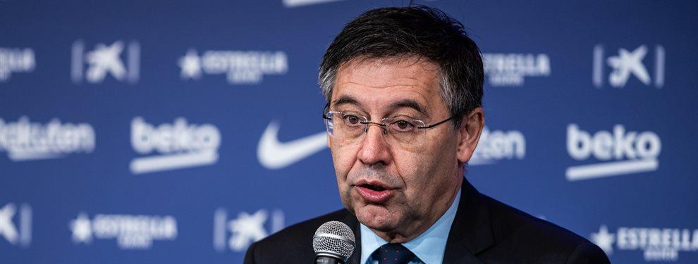 Josep María Bartomeu no ha querido hablar, pero el Barça no tiene dinero para fichar