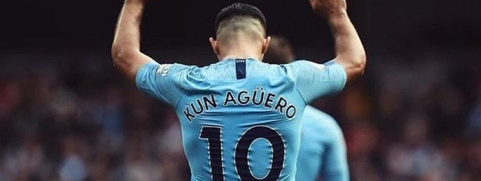 El delantero argentino del Manchester City, 'Kun' Agüero, está planeando su futuro en la MLS. Desde Miami, David Beckham lo quiere reclutar para su equipo.