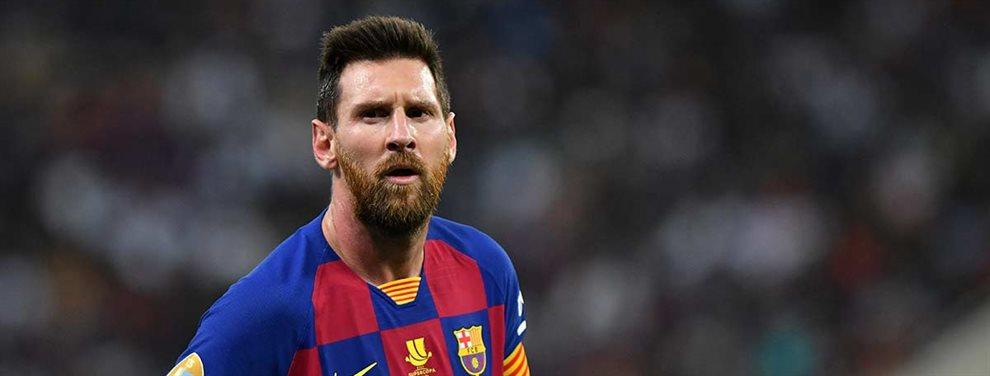 Lionel Messi está decepcionado con la dirección deportiva del club por la mala gestión que han desarrollado.