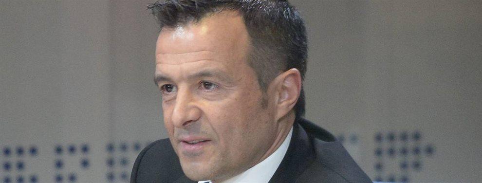 El agente Jorge Mendes busca mover a sus representados para que den un salto de calidad.