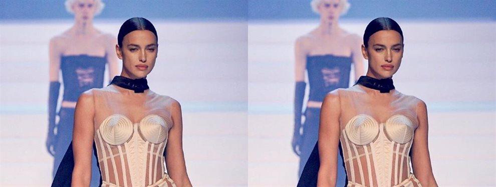 La modelo rusa Irina Shayk y su 'ex' Bradley Cooper se han dejado fotografiar muy juntos durante la fiesta de después de la entrega de los premios BAFTA
