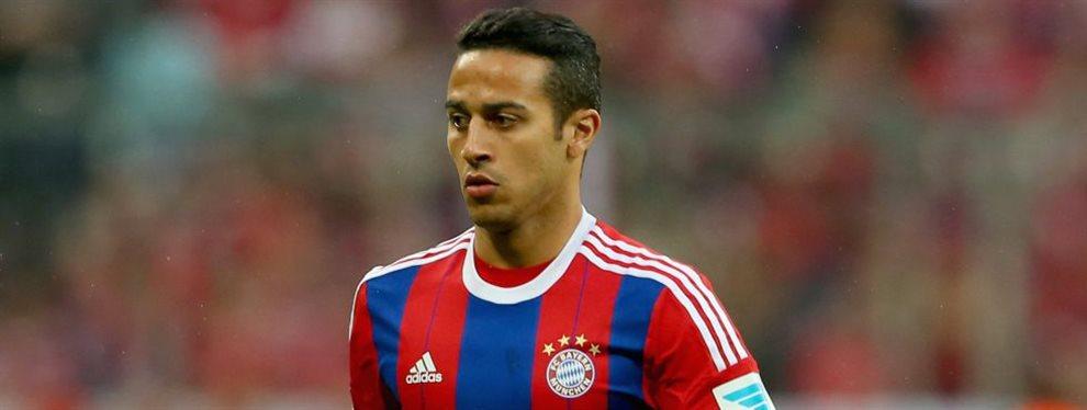 Thiago Alcántara sabe que tiene la opción de volver al Barcelona en verano. Y lo sabe porque el Bayern de Múnich no tiene pensando renovarle. Es su momento