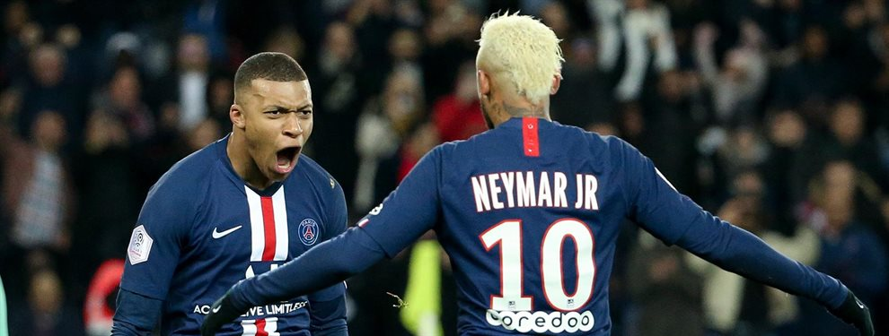 Neymar Junior y Kylian Mbappé están a disgusto en el PSG, y ambos se plantean sus opciones