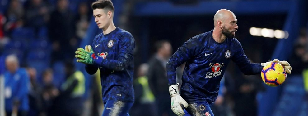 En el Chelsea se generó un conflicto interno por la reciente suplencia de Kepa Arrizabalaga.
