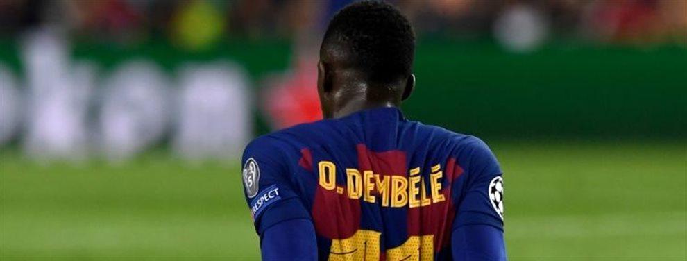 Dembèlè iba a ser el fichaje del Barcelona para este mercado de invierno. Setién tenía muchas esperanzas puestas en él.Pero ha vuelto a pasar lo de siempre
