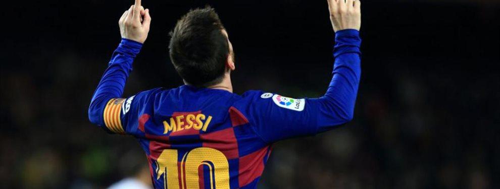 Leo Messi está harto en el Barça y, si no se van Josep María Bartomeu, Eric Abidal y Quique Setién, se irá
