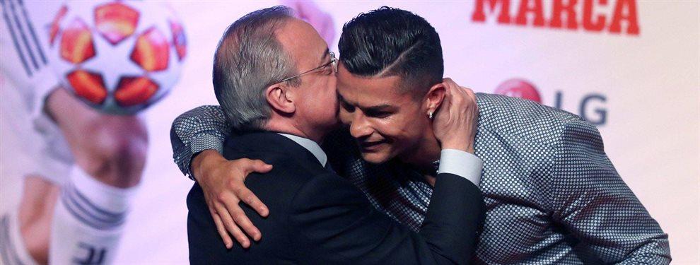 Florentino Pérez y Cristiano Ronaldo tienen un acuerdo de colaboración, para cuando se retire