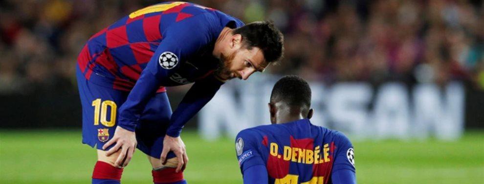El Barcelona analiza contratar a un experimentado delantero para reemplazar a Ousmane Dembelé.