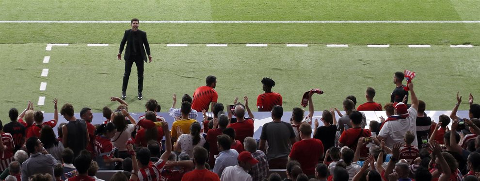 El Atlético de Madrid es un mar de dudas y Simeone está en el ojo del huracán por este asunto que le salpica a él directamente ¡Pero también al club!