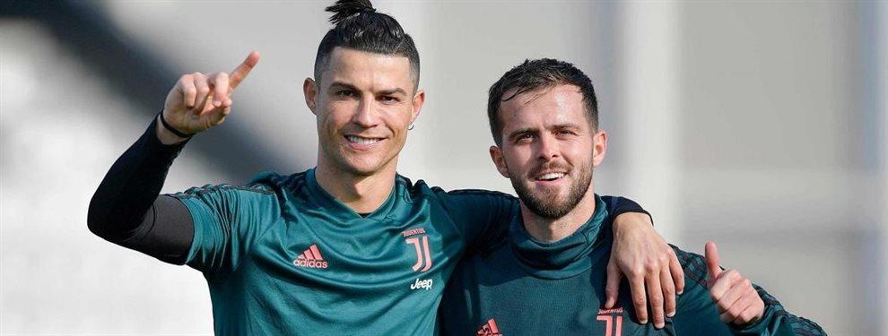 Maurizio Sarri le quiere para la Juventus de Turín y le encanta a Cristiano Ronaldo ¡Sustituirá a Miralem Pjanic y es fundamental en su equipo, un grande!