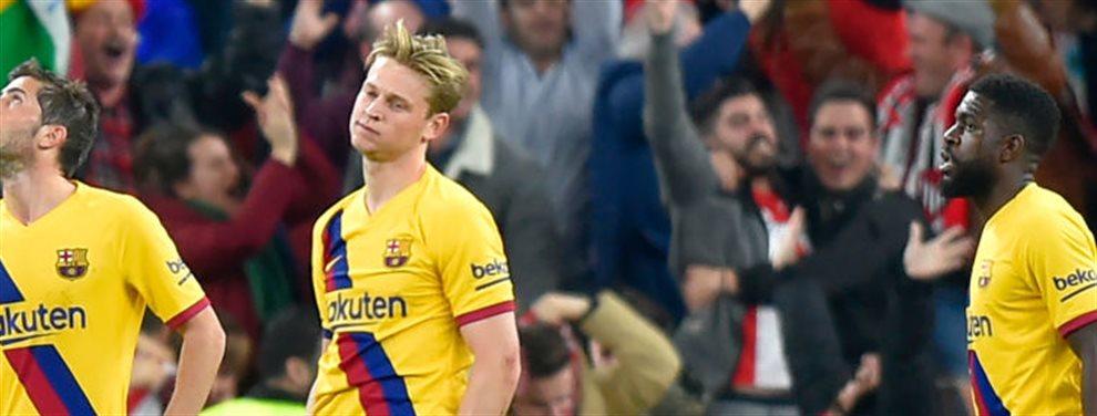 El Fútbol Club Barcelona perdió ayer contra el Athletic en cuartos de Copa del Rey. Todos estaban cabreados, menos Setién. El técnico sacó pecho ante todos