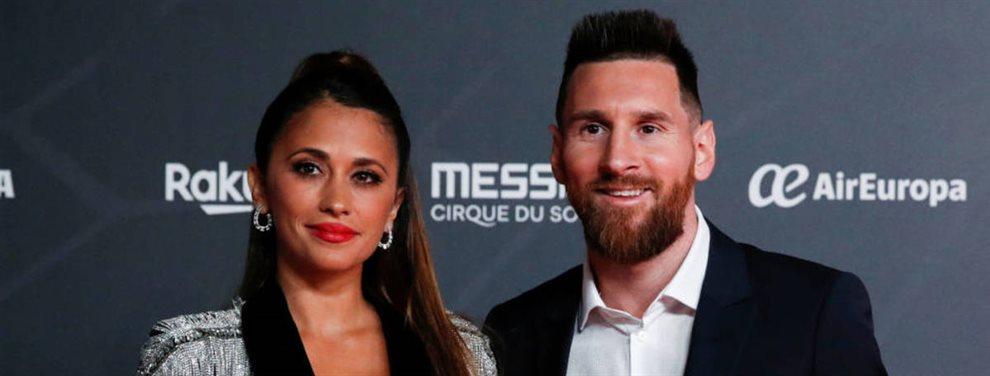 Antonella Roccuzzo sabe del enfado de Leo Messi, que salió muy disgustado del partido ante el Athletic
