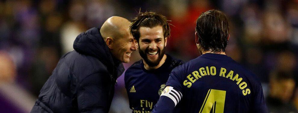 El entrenador del Real Madrid y su presidente tienen sus más y sus menos por la posible salida de un jugador de la plantilla clave para Zinedine Zidane...