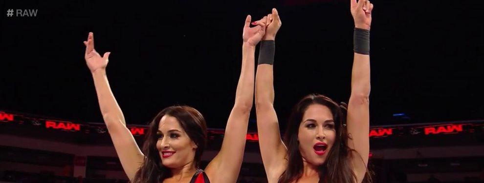 Las gemellas Brie y Nikki Bella han anunciado que ambas se encuentran embarazadas. Las ex luchadoras se encuentran rodando su 'reallity' 'Total Divas'