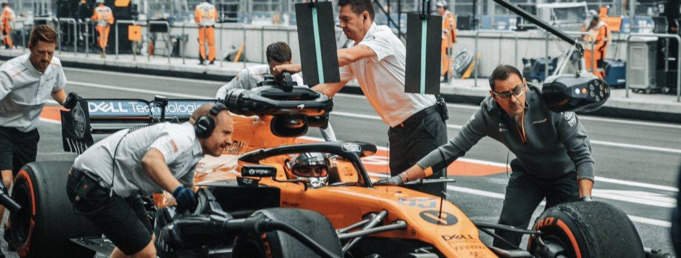 La claves de Mclaren para intentar luchar por el campeonato de Formula 1 esta temporada. Motores Renault y ilusión para que Carlos Sainz luche por todo.